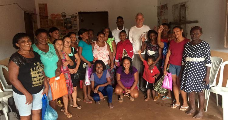 Foto: Paulo Duarte / Mike Jensen visita rede comunitária e se reúne com comunidade de Penalva